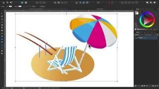 Affinity Designer - Teil 10: Einladung gestalten und Objekte richtig selektieren