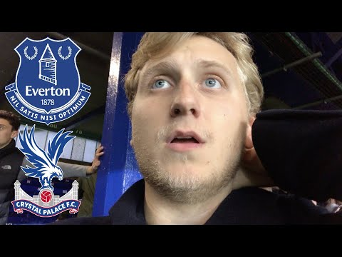 MATCHDAY VLOG #28: Everton v Crystal Palace | ROY IS ALLERGIC TO SUBSTITUTIONS!!