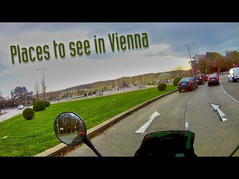 Moto Vlog Vienna City Tour [ENGLISH]