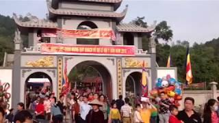 Hội Đền chùa I sơn xã Hòa Sơn 15/giêng 2018