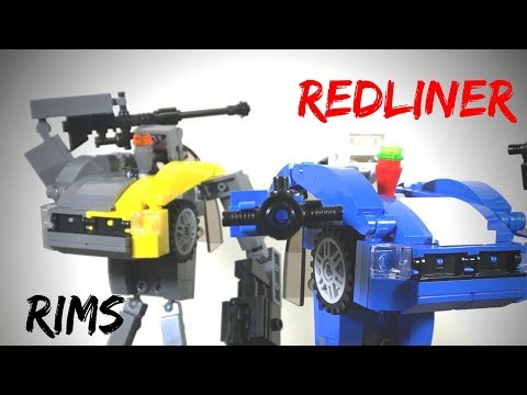 Lego Transformers by M1NDxBEND3R - The Pinheads: Redliner and Rims
