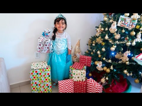 Natal da Elsa Frozen Bia Lobo 2016
