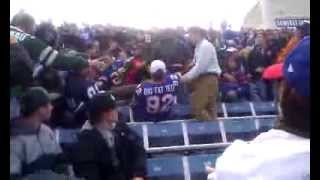 Aftermath of fight at Ralph Wilson Stadium