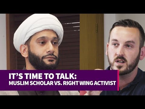 IT'S TIME TO TALK: RIGHT WING ACTIVIST VS. MUSLIM SCHOLAR (DEBATE)