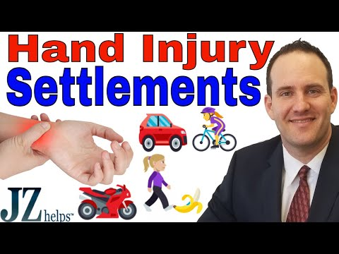 Hand and Wrist Fracture and Injury Settlements (Car Accidents and More)