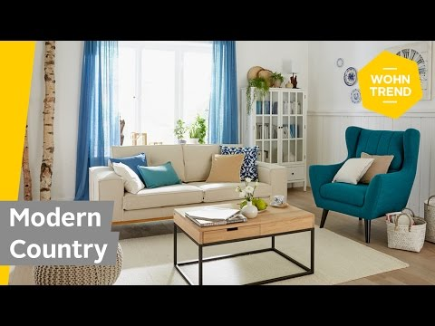 Wohnzimmer im Landhausstil einrichten: How to style Modern Country | Roombeez – powered by OTTO