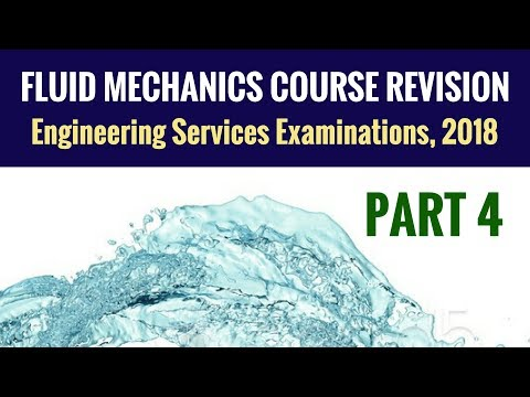 Fluid Mechanics Revision - UPSC ESE - Part 4 - Engineering Services Examination (ESE)
