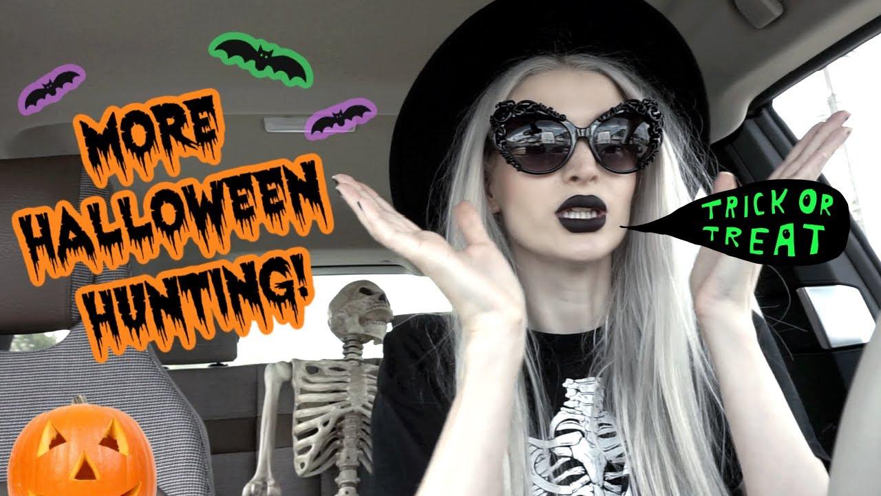 More Halloween Decor Hunting!! Big Lots, HomeGoods, B&BW...