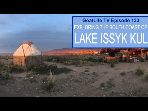 Exploring The South Shore of Lake Issyk Kul in Kyrgyzstan