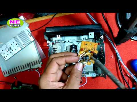 cara pasang Usb Mp3 di Tape JVC