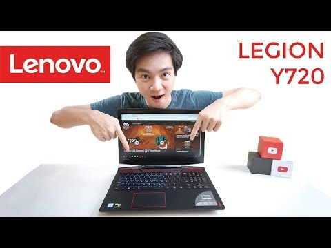 Lenovo Legion Y720 - Indonesia Review
