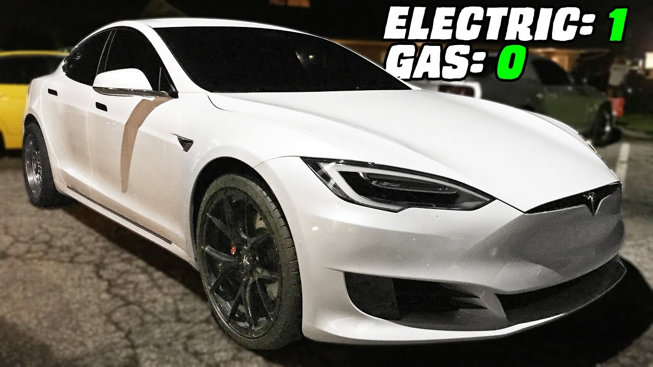 Gutted Tesla TROLLS the Streets!