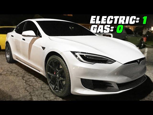 Gutted Tesla TROLLS the Streets!