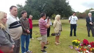 Lee Harvey Oswald 2016 grave site memorial