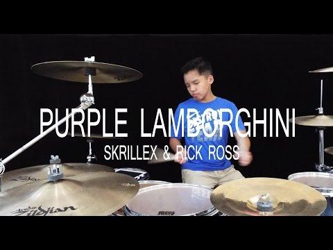 Purple Lamborghini  Skrillex & Rick Ross  Drum