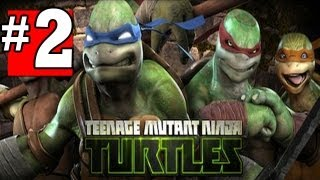 Teenage Mutant Ninja Turtles Out of the Shadows Walkthrough Part 2 Chapter - 1 [HD] XBOX360 XBLA