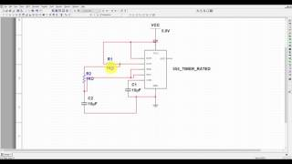 Multisim Tutorial 4- 555 Timer Astable Mode Simulation