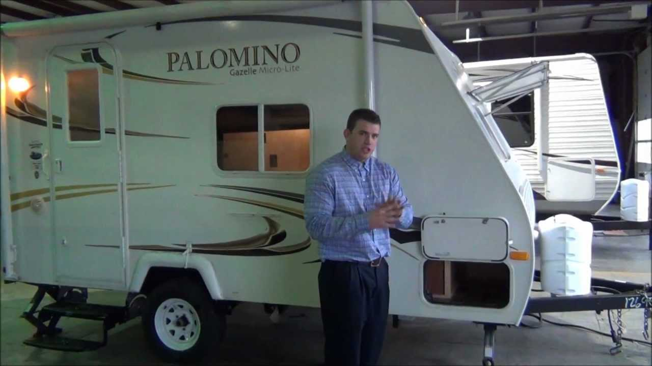 New 2011 Palomino Gazelle 152 Light Weight Travel Trailer YouTube