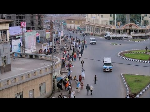 Ethiopia -- The Beautiful City of Dessie (Amharic music: yeW