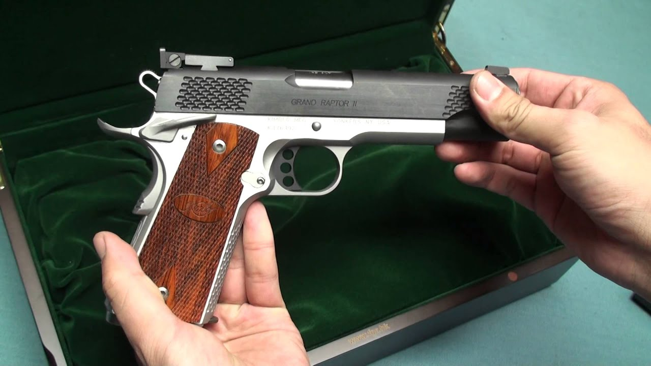 What Is Fpr Rating Of Fpr Kimber Raptor Ii And Infinity Preview Youtube