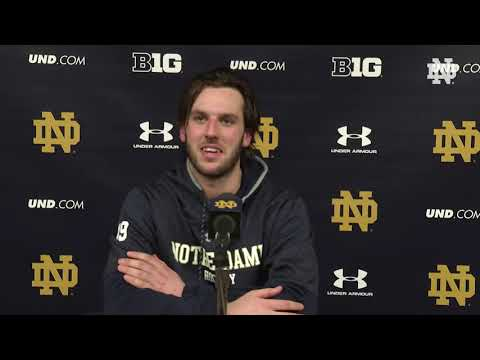 @NDHockey | Mike O'Leary Post-Game Press Conference vs. Penn State (2019)