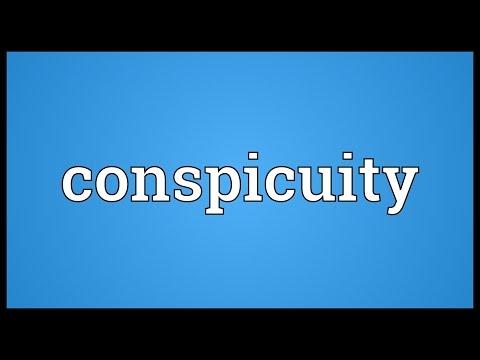 Header of conspicuity