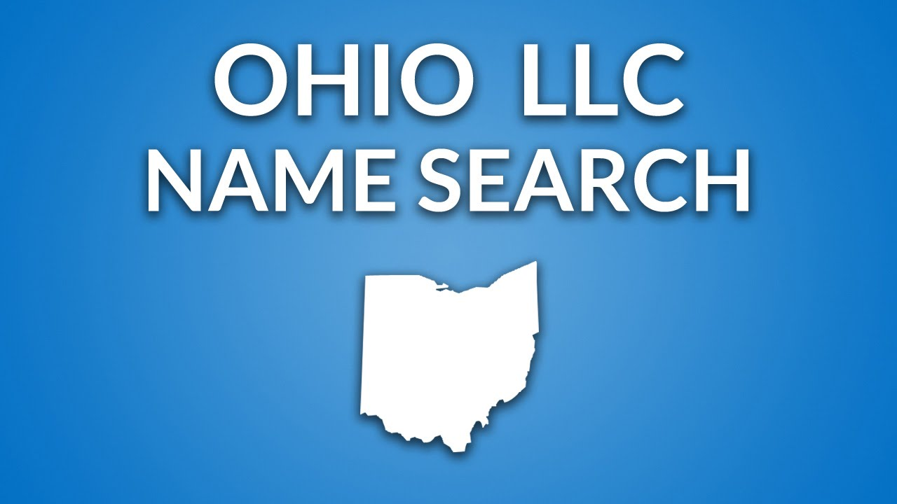 Check availability of business name ohio - Ohio Llc Name Search