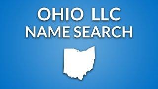 Ohio LLC - Name Search