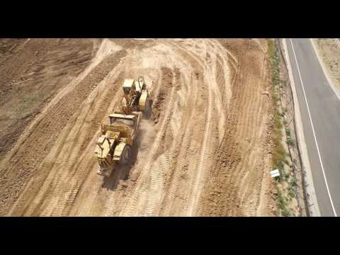EZ Excavating - I25 & Hwy 7 (Brighton, CO) Project (DJI Inspire) 4K