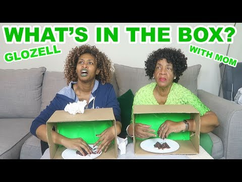 What's in The Box? - GloZell with Mom