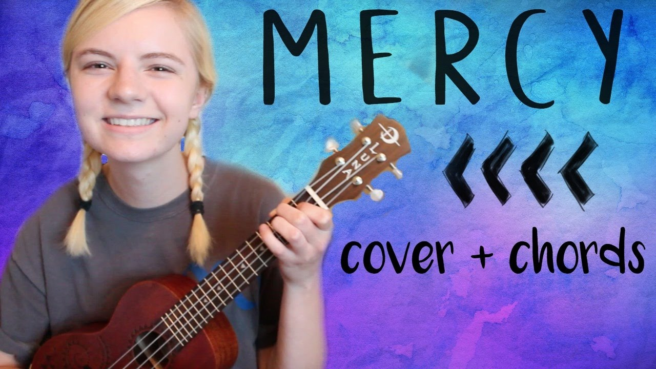 Mercy - Shawn Mendes | Ukulele Cover + Chords (in description)