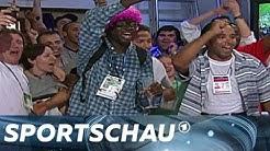 EURO 2016: Französische Titelfeier 1998 im ARD-Studio | Sportschau