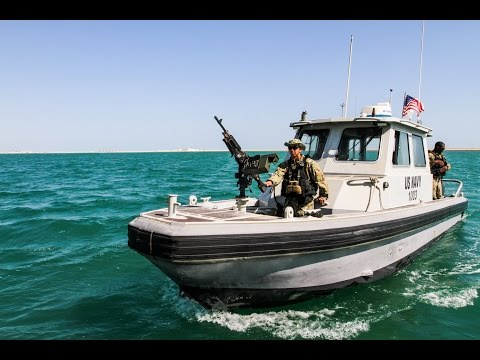 Harbor patrol unit in Bahrain sees close encounter