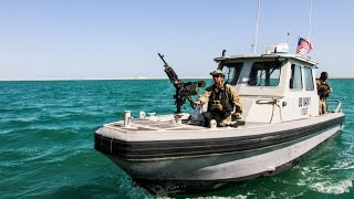 Harbor patrol unit in Bahrain sees close encounter