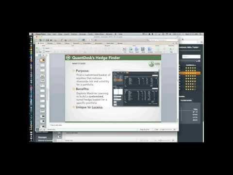QuantDesk(tm): Trading Like a Pro Webinar