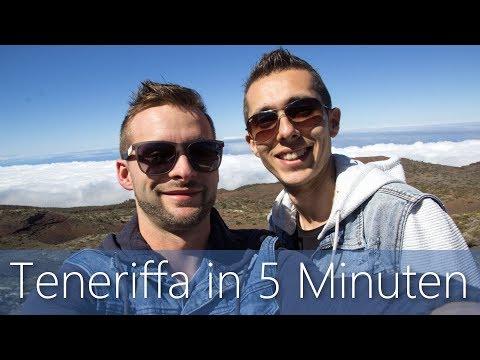 Teneriffa in 5 Minuten   Reiseführer   Die besten Sehenswürdigkeiten
