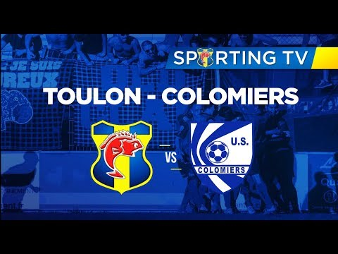SPORTING CLUB TOULON - US Colomiers (1-0) : 25ème journée de National 2 (07/04/2018)