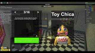 ROBLOX | Five Night's At Freddy's | Toy Chica on Da Move~