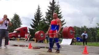 Ахренеть: Деду 65 лет (сам весит 94 кг) становая тяга - 220 кг - 270 кг