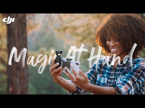 DJI Pocket 2 – Magic At Hand