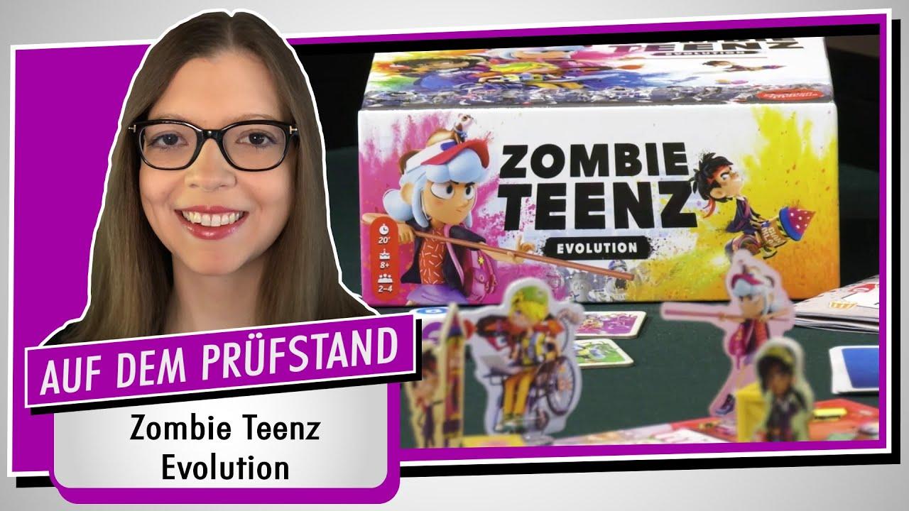Spiel doch mal ZOMBIE TEENZ EVOLUTION! - Brettspiel Rezension Meinung Test #371