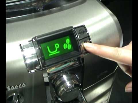 saeco syntia espresso machine manual