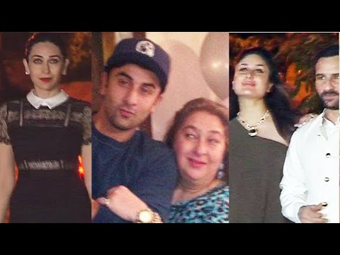UNCUT - Ranbir Kapoor's Aunty Reema Jain's 60th Birthday Party | Kareena Kapoor | Saif Ali Khan