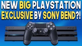 NEW BIG PlayStation Exclusive by SONY Bend?! Spider-Man PS4 SEQUEL?!