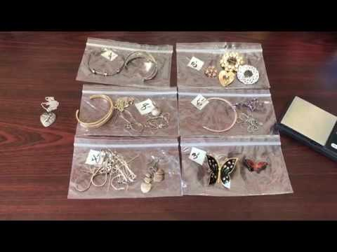 Estate Sale / Garage Sale Finds #3- 14K & Sterling Silver Jewelry - Buy & Resell - Part 2