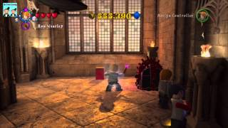 Lego Harry Potter Years 5-7 Walkthrough - Outside the Room of Requirment