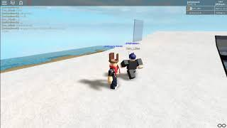 Funny my friend and i keep doing creeper, aww man (ROBLOX)