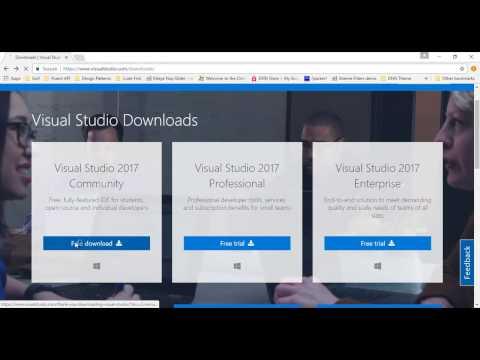 Visual Studio 2017 Community offline installation