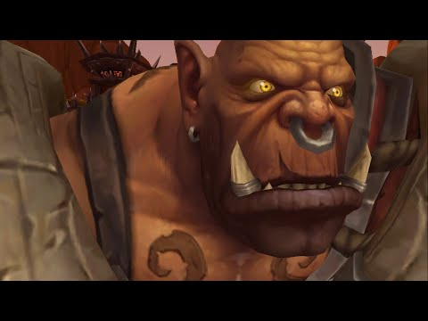 Hearthstone in Real Warcraft (WoW Machinima)