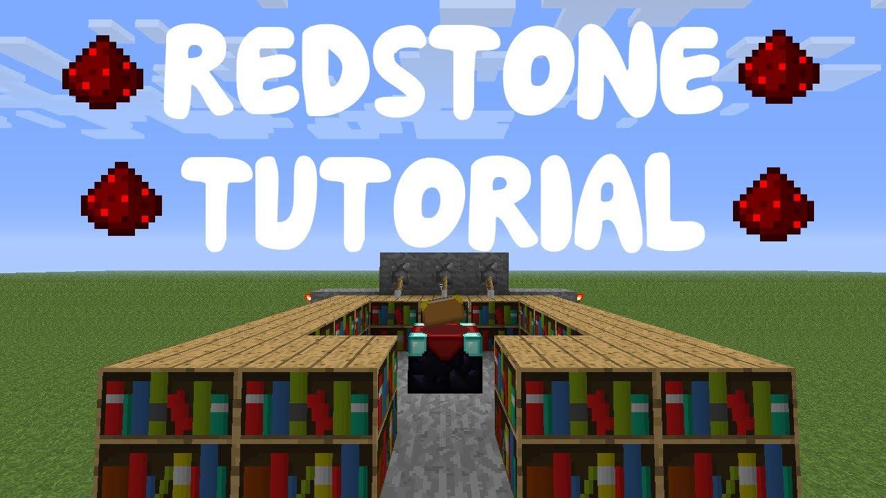 Minecraft 1 12 Redstone Tutorial Compact Enchanting